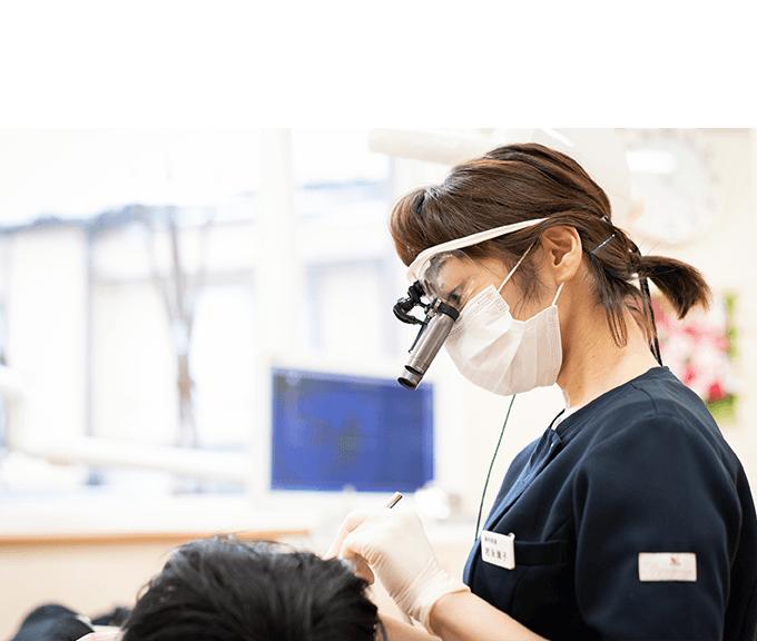 歯周病認定医による歯周病治療!